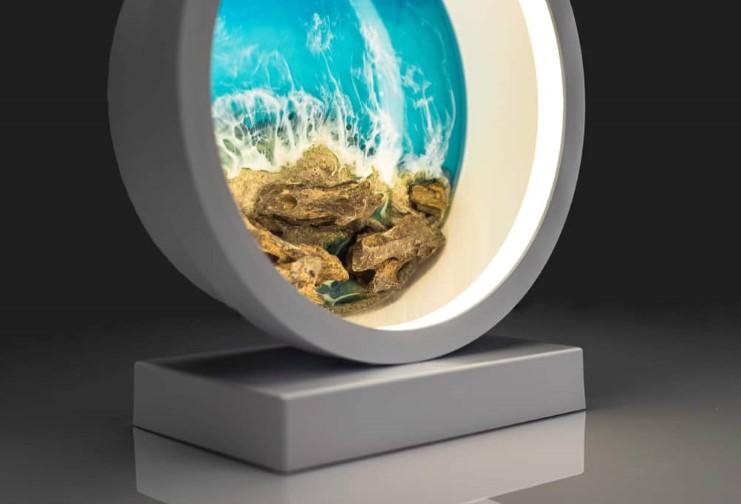 WIN A LASPRECIOUS DESIGN MOONLIGHT COASTAL LAMP
