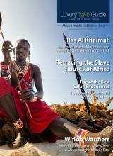 Luxury Travel Guide - Africa & Middle East Edition 2016 - Cover Image