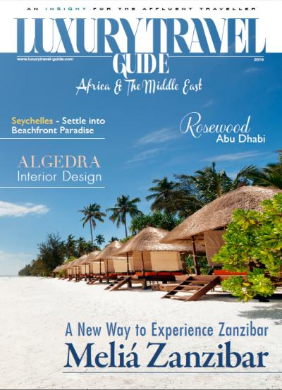 Luxury Travel Guide - Africa & Middle East Edition 2015 - Cover Image