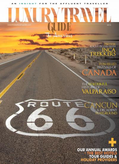 Luxury Travel Guide 2014 - The Americas Edition - Cover Image