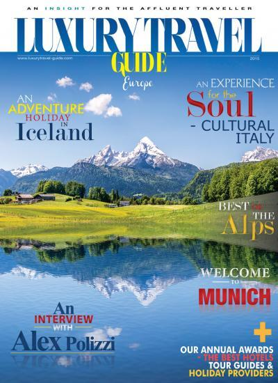 Luxury Travel Guide - European Edition 2015 - Cover Image