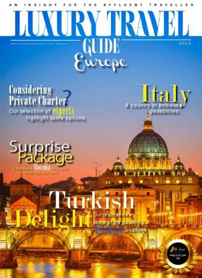 Luxury Travel Guide 2013 - European Edition - Cover Image