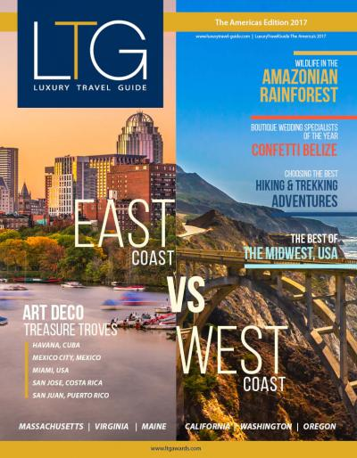 Luxury Travel Guide - The Americas Edition 2017 - Cover Image