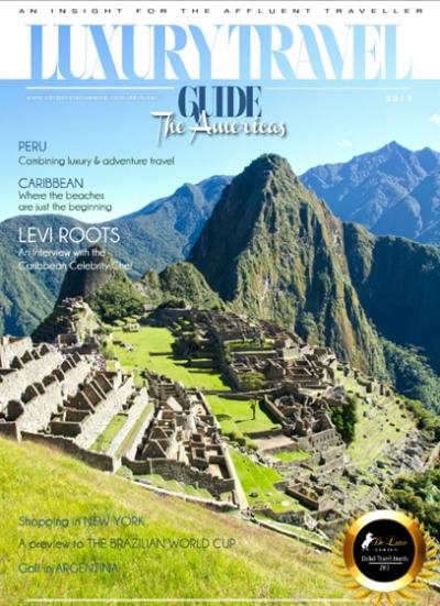 Luxury Travel Guide 2013 - The Americas Edition - Cover Image