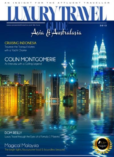 Luxury Travel Guide 2013 - Asia & Australasia Edition - Cover Image