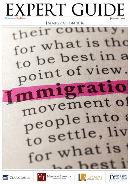 Immigration Expert Guide 2016 takes an in-depth look at the latest regulatory changes and interesting developments in the United Kingdom and the United States. Highlighted topics include: the fastest way into the UK through sponsorship, employment-based permanent residency opportunities in the United States and a summary on the five key immigration issues to watch in 2016.<br />