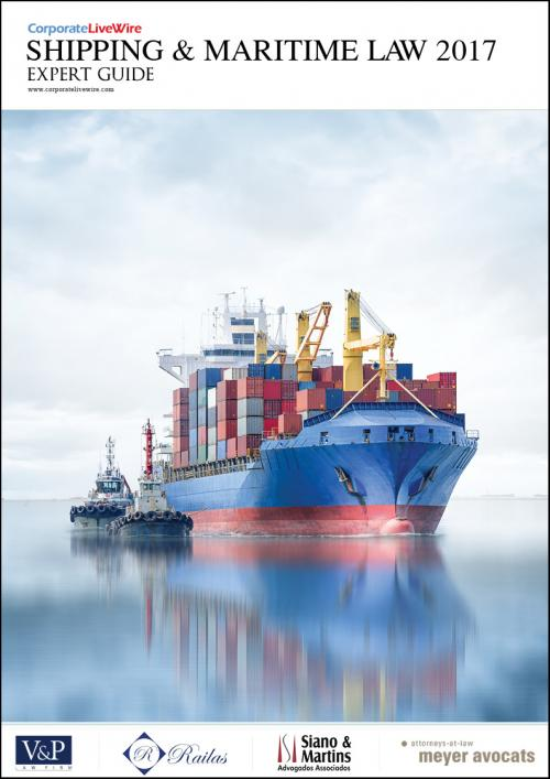 The Shipping & Maritime Law Expert Guide features the latest trends and interesting developments across the sector including a discussion on the emergence of Dubai as a hub for superyachts, ship finance in Greece, and exclusive interviews with Lauri Railas, Stephen Askins and David Henderson. Featured countries are: Brazil, Dubai, Finland, Greece, United Kingdom and United States.
