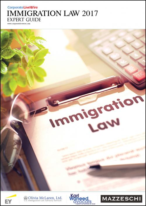 The Immigration Expert Guide 2017 takes an in-depth look at the latest trends and regulatory changes in immigration around the world. Following the EU Referendum and the inauguration of Donald Trump, immigration played a prominent position for both outcomes. The highlighted topics include: the trends in North American business immigration, clarifying the finer points of B1 Visas and what it means for business visitors. Featured countries are:  Australia, Canada, France, Italy, Tanzania & The United Kingdom.<br />