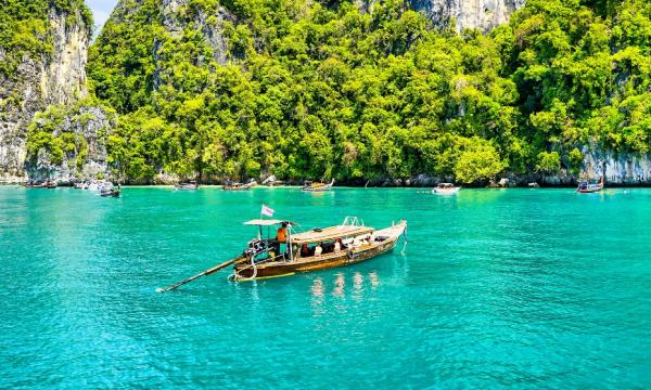 Thailand beyond the Party Islands  - Cover Image