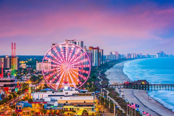 """""""Stretch Your Summer"""" In Myrtle Beach This Fall - Cover Image"""