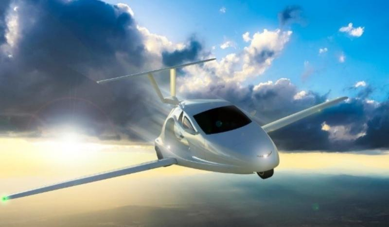 Flying Sports Car Coming in 2018