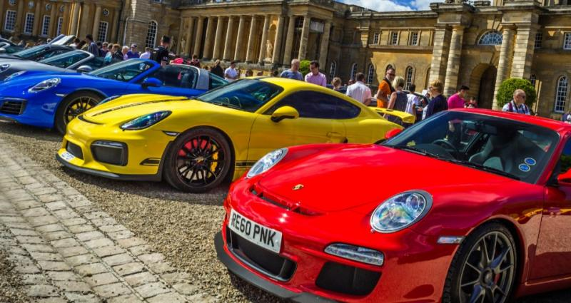 Supercars at the Palace take to the grounds of Blenheim Palace