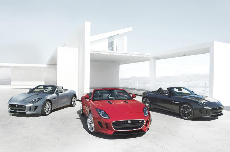 Jaguar F-Type at the Paris Auto Show 2012
