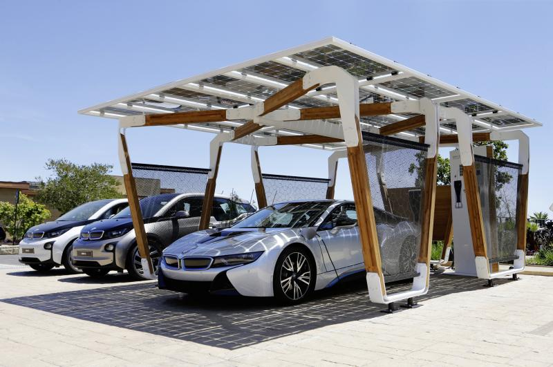 BMW Launches Its Own Solar Carport For i3 And i8