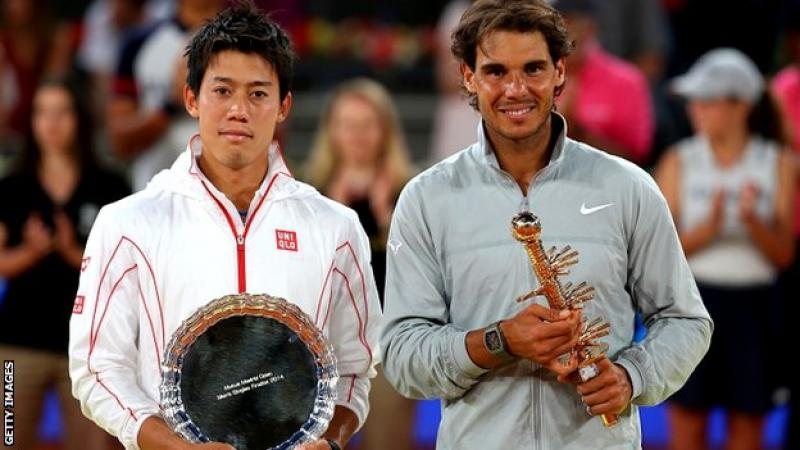 Rafael Nadal Retains Madrid Title As Nikshori Retires