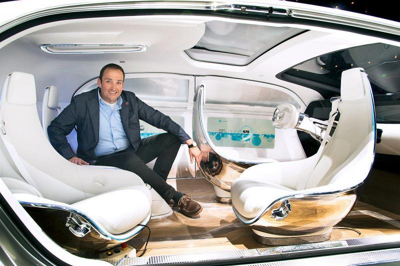 The F015 – Mercedes-Benz's Latest Concept Car