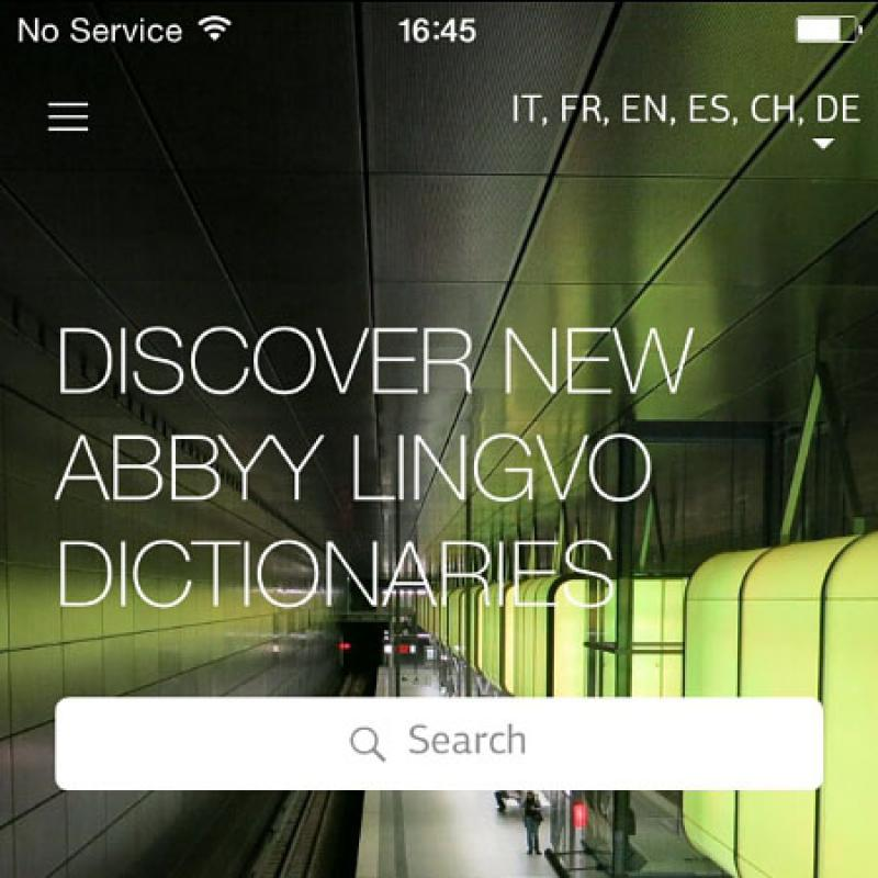 ABBYY® Announces Its Lingvo Live Social Networking Service At Mobile World Congress