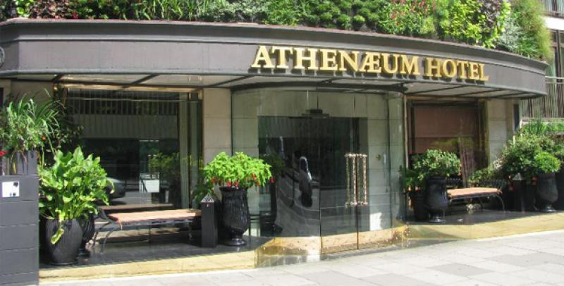 The Luxury Travel Guide Honors The Athenaeum Hotel & Apartments As An Industry Standout