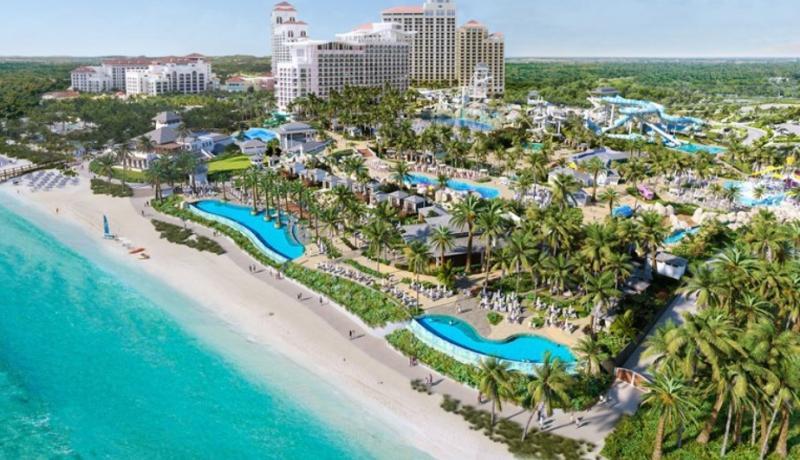 Baha Mar Unveils Luxury Beachfront Waterpark, Baha Bay To Open In July