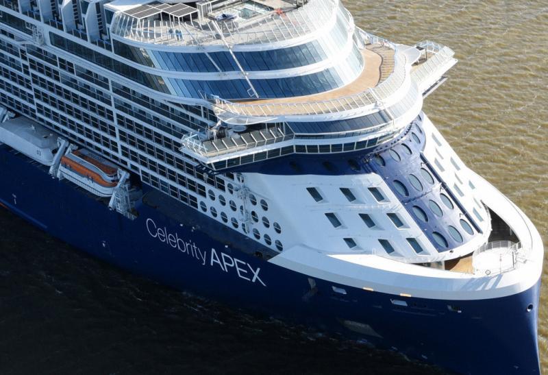 Celebrity Apex Long Awaited Maiden Voyage