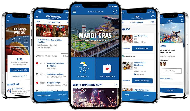 Carnival Cruise Line Expands HUB App Ahead Of Restart