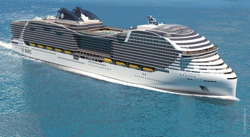 MSC Takes First Step Toward A Hydrogen-powered Cruise Ship