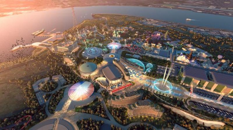 First Look At £3.5bn UK Disneyland