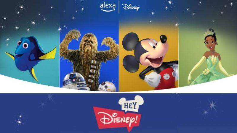 Alexa With Mouse Ears? Disney, Amazon Unveil Custom Voice Assistant