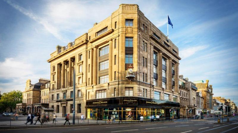 Johnnie Walker Princes Street: Diageo's New Whisky Visitor Attraction Opens In Edinburgh