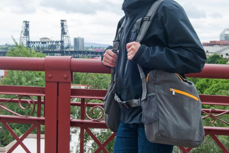Back T Pack for safer and easier Travel
