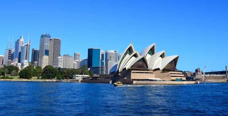 Sydney, Australia from sky high