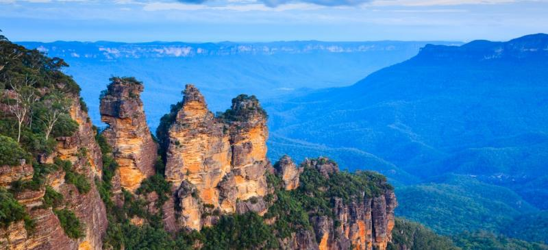 A Day in the Blue Mountains