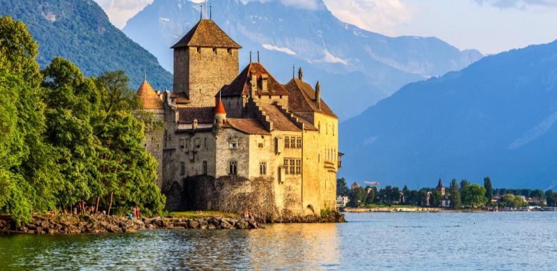 A literary pilgrimage to Lake Geneva