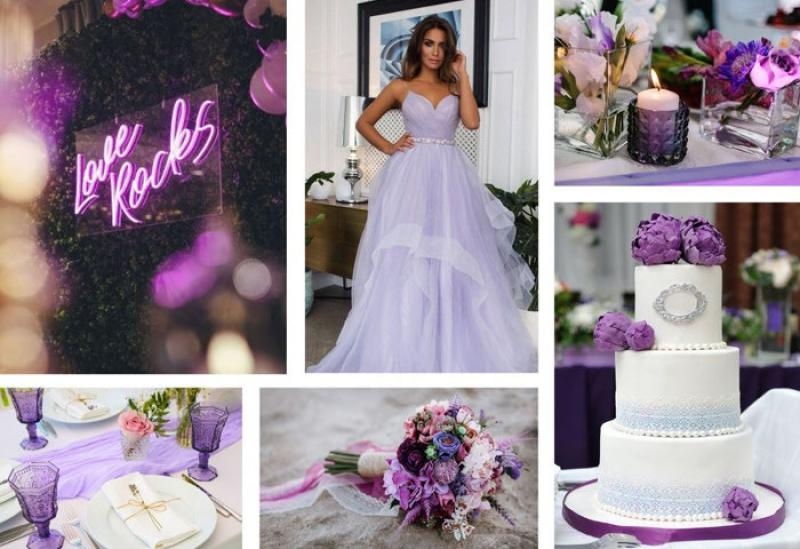 Wedding Trend Alert: Love In Lilac
