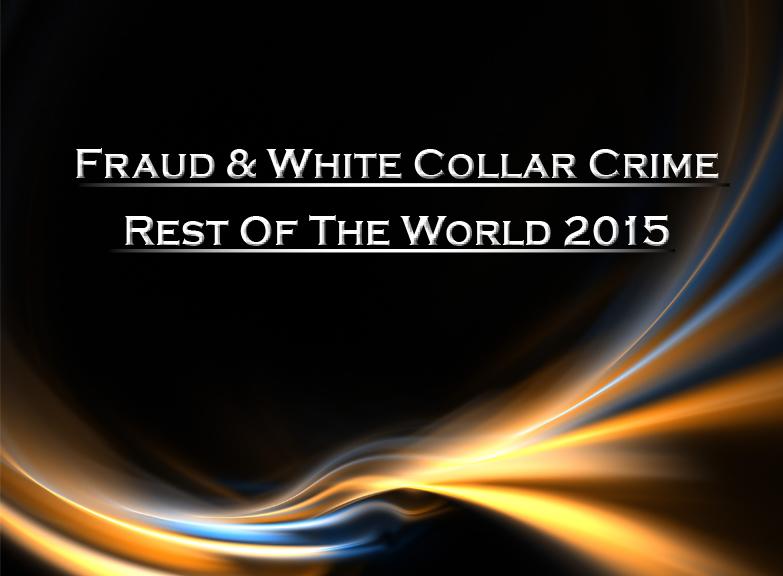 White Collar Crime essay samples